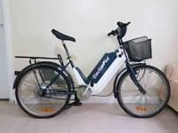 Electric bike in fully working order.