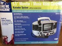 The Singing Machine Karaoke System