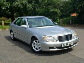 Mercedes Benz S Class S280 2.8 Automatic, 2 YEAR WARRANTY, SAT NAV, LEATHER like s320 s500 cdi
