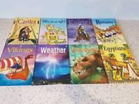 Usborne Beginners information books x 8