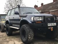 Toyota Land Cruiser 4.5litre VX 5dr 80 series Ultimate Off-Road Vehicle