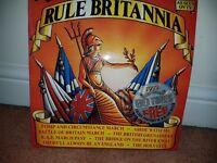 RULE BRITANNIA Vinyl .