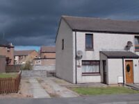 2 Bedroom House for rent in Peterhead. Private garden and off street parking.