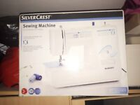 Silvercrest Sewing Machine with 33 functions - Brand New in Box.