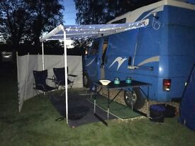 Talbot Express camper Festival ready much loved and reliable