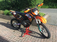 KTM XCF-W 250 2009 (4 stroke) Road Legal Enduro