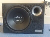 """VIBE PULSE 3 SERIES 12"""" SUB WOOFER WITH ORIGINAL BASS BOX (HUGE BASS) AMAZING SOUND"""