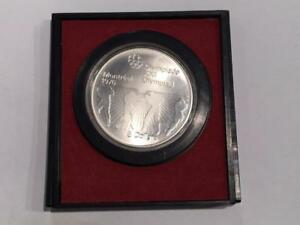 1976 Canadian Silver 5 Dollars (Montreal Olympics, Boxing)