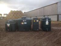 Bunded oil tanks free delivery