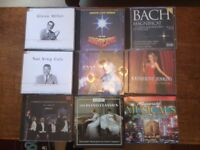 CD Collection of over 80 musicals, light and classical music CDs