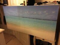 Canvas seascape - excellent condition