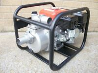 "Brand New 4-Stroke 50mm 2"" inch Petrol water pump. 163cc 5.5HP four"