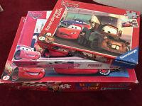 3 Lightening McQueen puzzles of various sizes £5