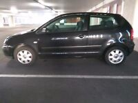 Black VW Polo 2005 For Sale