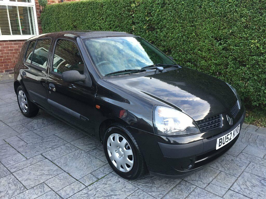 RENAULT CLIO 1.2 16V AUTO 2002 52 ONLY 29,000MILES!!! 5DOOR CHEAP CAR **12 MONTHS M.O.T**
