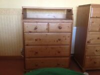 IKEA BABY CHANGING UNIT IN PINE