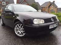 *ONE OFF EXAMPLE*VW GOLF 1.8 TURBO 5DR(150BHP)5 SPEED-WITH 16 SERVICE HISTORY STAMPS-MUST BE SEEN*