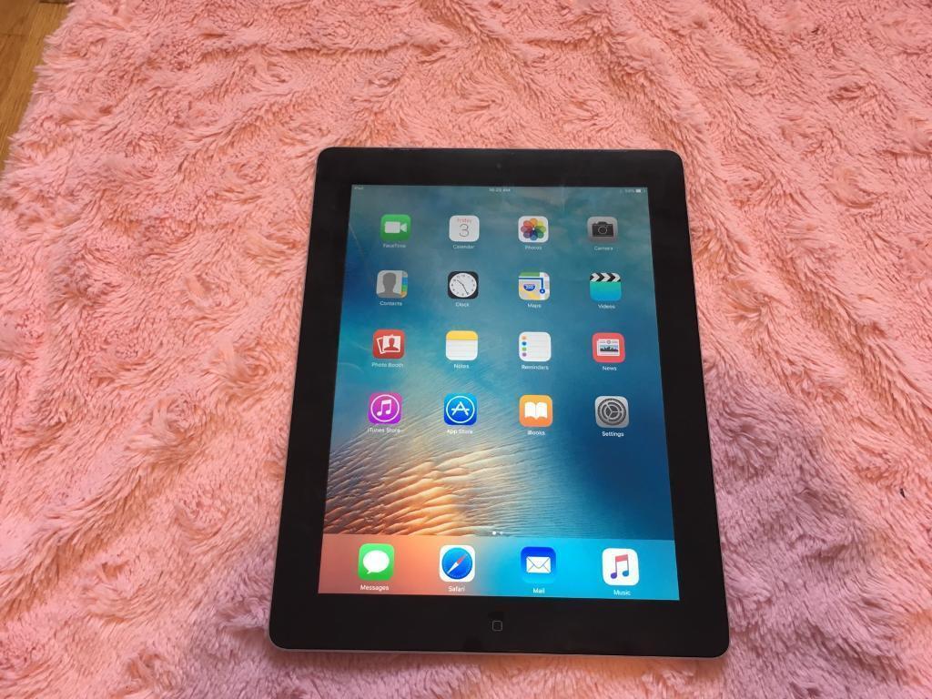 iPad 3rd gen retina 16GB in black
