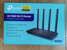 Brand New Boxed TP-Link Archer C80 AC1900 Wireless MU-MIMO Wi-Fi Router