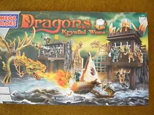 Dragons Krystal Wars Marauder's Cliff #9885 BY MEGA BLOKS NIB
