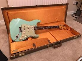 Fender Custom Shop 1960 Relic Stratocaster Surf Green