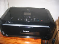 canon MG5350 printer print head not working new inks