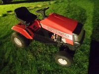 """Ride on lawnmower Lawnflite 444 12hp 32"""" deck mulch / side discharge, recently serviced ready to use"""