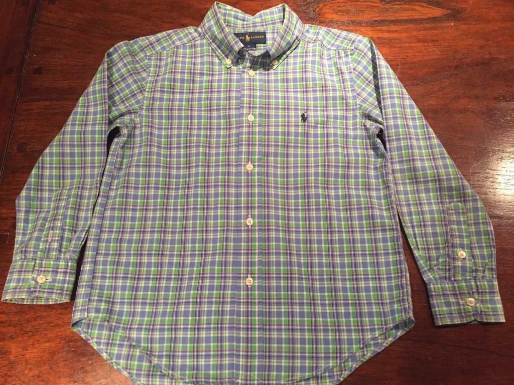 Ralph Lauren Boys Shirt age 6