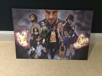 HEROES CANVAS