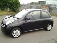 2008 NISSAN MICRA 1.2 AUTOMATIC, NO Ford FIESTA CLIO CORSA HYUNDAI GETZ I10 FOCUS POLO MINI 206