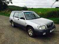 2001 Subaru Forester 2.0 awd automatic only £395