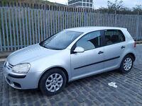 2005 Volkswagen Golf 1.6 Silver 5dr Hatchback Manual Petrol MOT April2018 fullservice history