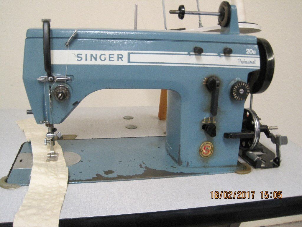 singer 20u zig zag industrial sewing machine