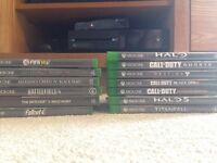 Xbox One with 13 Games, Kinect and Controller