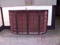 Old window shop display cabinet good condition shabby sheek Delivery Available