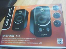 Speakers ( mp3, computer,tablet etc).