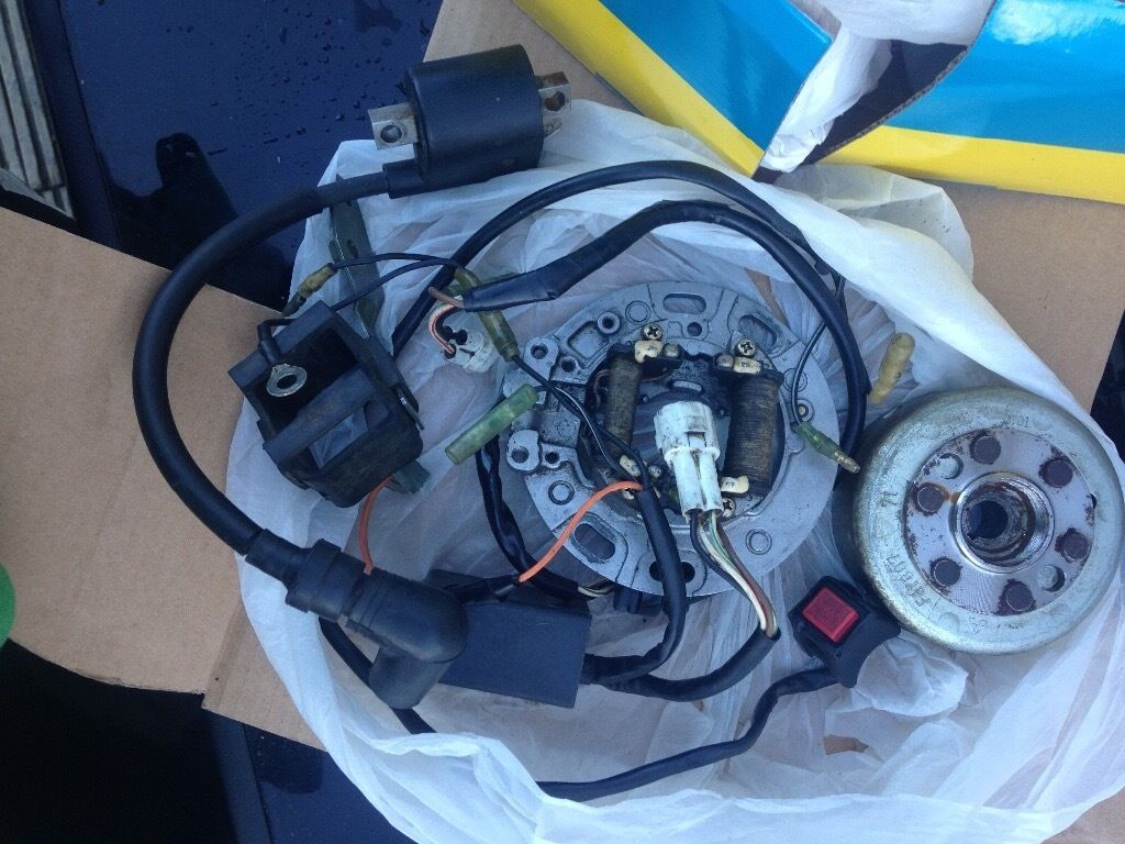 2001 Yamaha Yz85 Stator Flywheelcdi Ecu Ignition Coil Kill Help Wanted Switch And Wiring