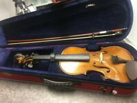 Stentor Violin 4/4 with Case & Bow