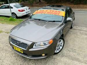 2007 Volvo S80 4x4 AWD Luxury Sports SUNROOF LOGBOOKS 2 Keys A1 Sutherland Sutherland Area Preview
