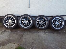 Corvette c5,Z06, genuine wheels 17 and 18 rears