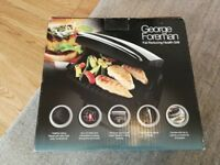 George Foreman Fat Reducing Health Grill - for 4 people (Brand new-never used)