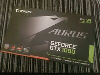 Nvidia Geforce GTX1080, Gigabyte Aorus 8GB, Full Working Order in Box with Receipt