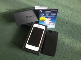 iPhone 5 64GB White/Silver – Unlocked/excellent condition – 54 PICS !!!