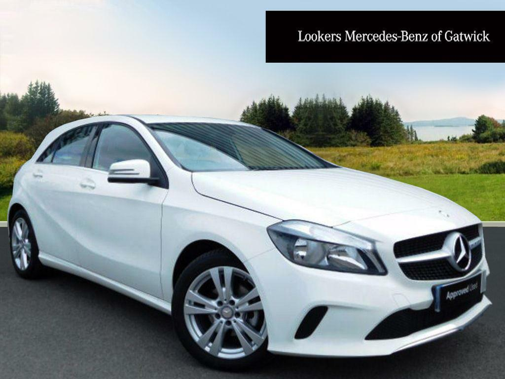 mercedes benz a class a 180 d sport white 2016 04 11 in crawley west sussex gumtree. Black Bedroom Furniture Sets. Home Design Ideas
