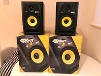Pair KRK Rokit 5s Speakers / Studio Monitors