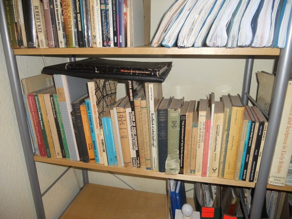 Free to collector: Architectural Text Books