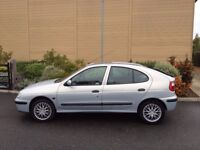 RENAULT MEGANE 1.6 AUTOMATIC 7 MONTHS MOT 1 LADY OWNER SINCE 2009 FULL UP TO DATE SERVICE HISTORY