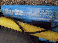 Clarke ARC welder 130 TE turbo