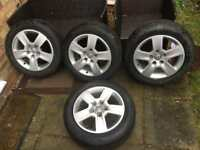 "Audi Genuine 16"" Alloys with Tyres"