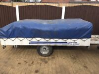 Conway classic CDL 2000 Trailer tent. Free local delivery.
